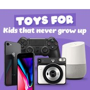 Toys For Kids That Never Grow Up