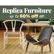 Up To 60% Off RRP Replica Furniture