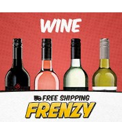 Free Shipping Frenzy: Wine