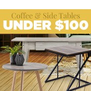 Coffee & Side Tables Under $100