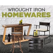 Wrought Iron Homewares Sale