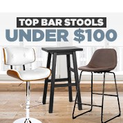 Top Bar Stools Under $100