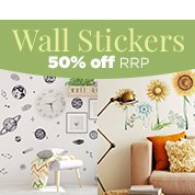 Wall Stickers 50% Off RRP