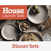 House Launch Sale: Dinner Sets