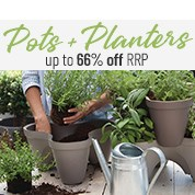 Pots & Planters Up To 66% Off RRP