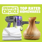 The People's Choice: Top Rated Homewares