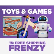 Free Shipping Frenzy: Toys & Games