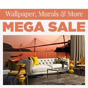Wallpaper, Murals & More Mega Sale