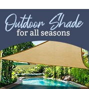 Outdoor Shade For All Seasons