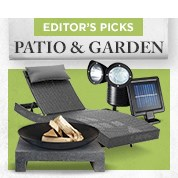Editor's Picks: The Patio & Garden