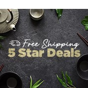Free Shipping: 5 Star Deals
