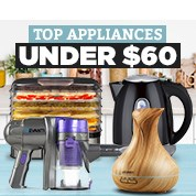 Top Appliances Under $60