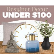 Designer Decor Under $100