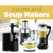 Juicers & Soup Makers Up to 60% Off RRP