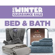 Big Winter Clearance: Bed & Bath