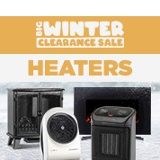 Big Winter Clearance: Heaters