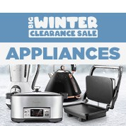 Big Winter Clearance: Appliances
