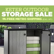 Keter Outdoor Storage Sale