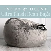 Ivory & Deene Ultra Plush Bean Bags