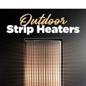 Outdoor Strip Heaters Up To 65% Off RRP
