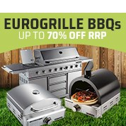 EuroGrille BBQs Up To 70% Off RRP