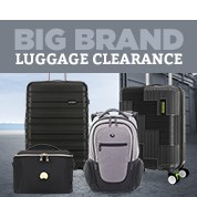 Big Brand Luggage Clearance
