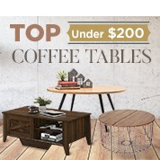 Top Coffee Tables Under $200