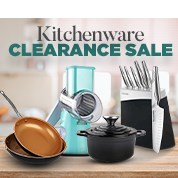 Kitchenware Clearance Sale