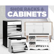 Shoe Racks & Cabinets Over 50% Off RRP