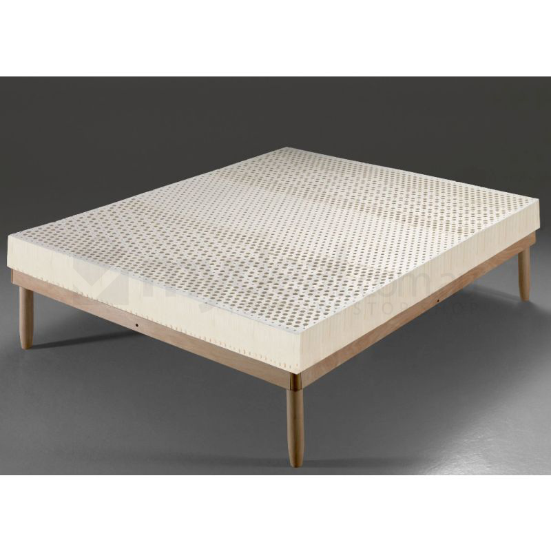 Firm 7-Zone Queen Mattress in Natural Eco-Latex