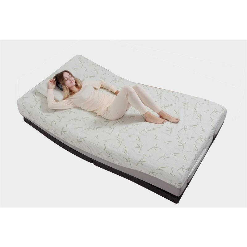 King Single Size Cool Gel Memory Foam Mattress
