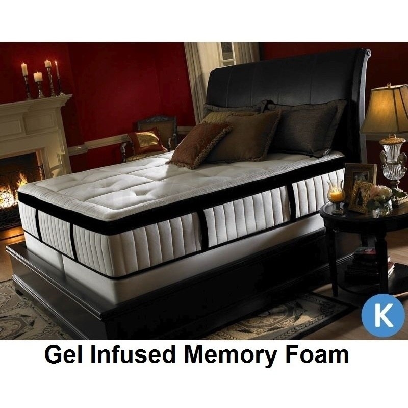 Spinal Pedic King Gel Infused Memory Foam Mattress