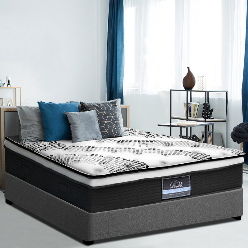 Single Size Euro Top Mattress with Jacquard Fabric