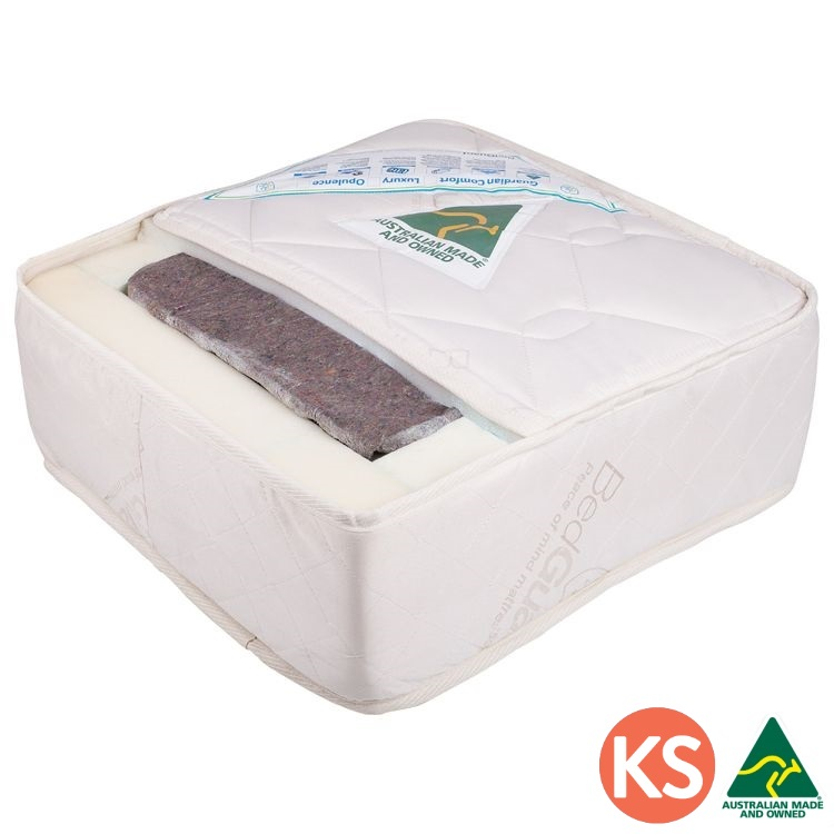 Guardian Box King Single Waterproof Spring Mattress