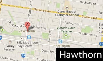 hawthorn map