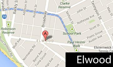 elwood map