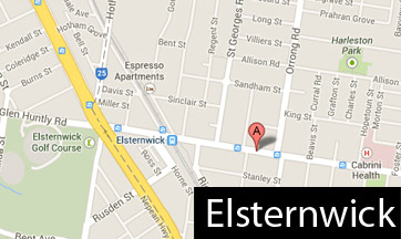 elsternwick map
