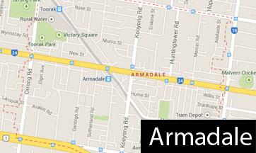 armadale map