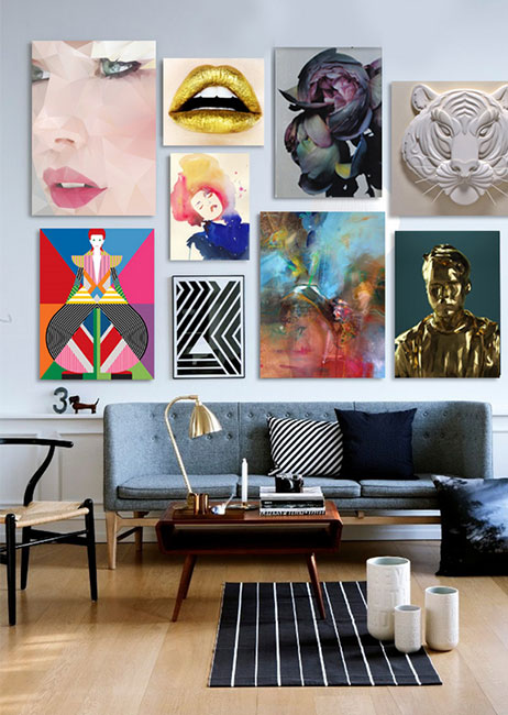 The Home Gallery - What to Hang and Where
