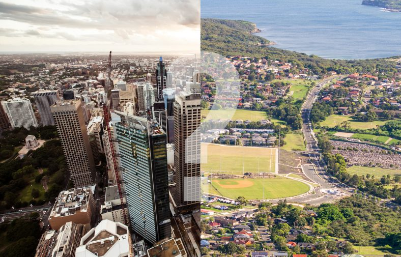 Big city living vs. suburban living