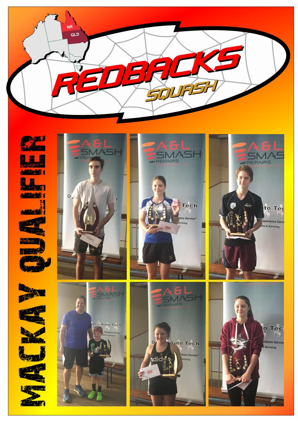 Redbacks Squash Newsletter June 2018