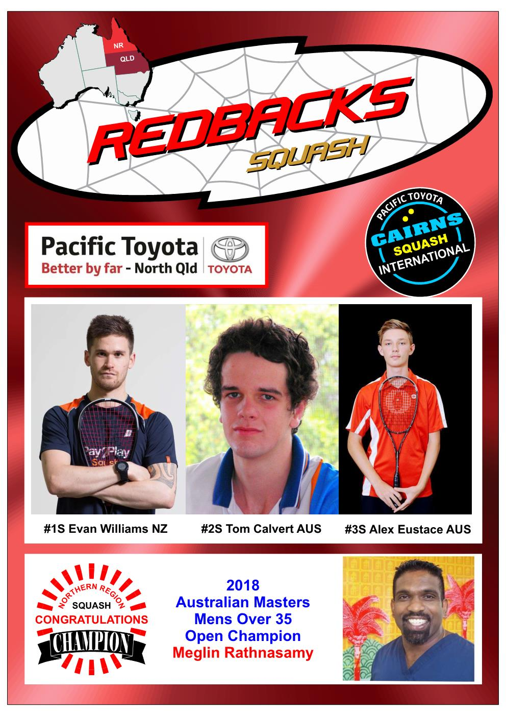 Redbacks Squash Newsletter October 2018