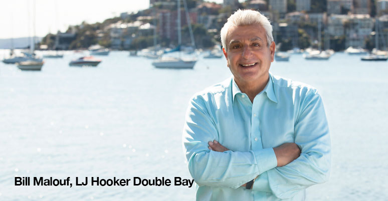 Bill Malouf, LJ Hooker Double Bay