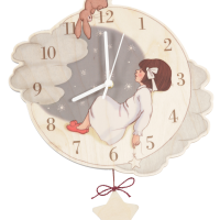 INTERIORS_Belle_Boo_Clock_moon_Rabbit_Cloud_Star