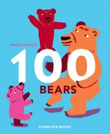BOOKS_100_Bears_Magali_Bardos_Flying_eye_cover