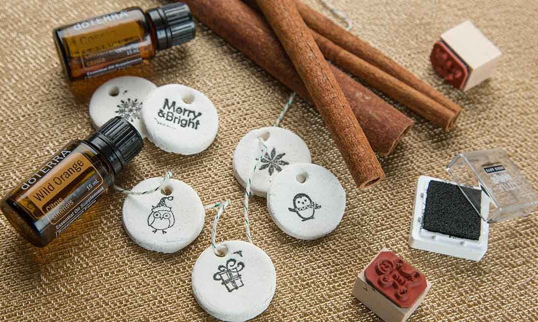 Aromatherapy Salt Dough Ornaments