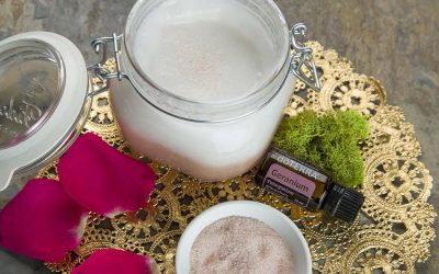 Coconut Salt Scrub
