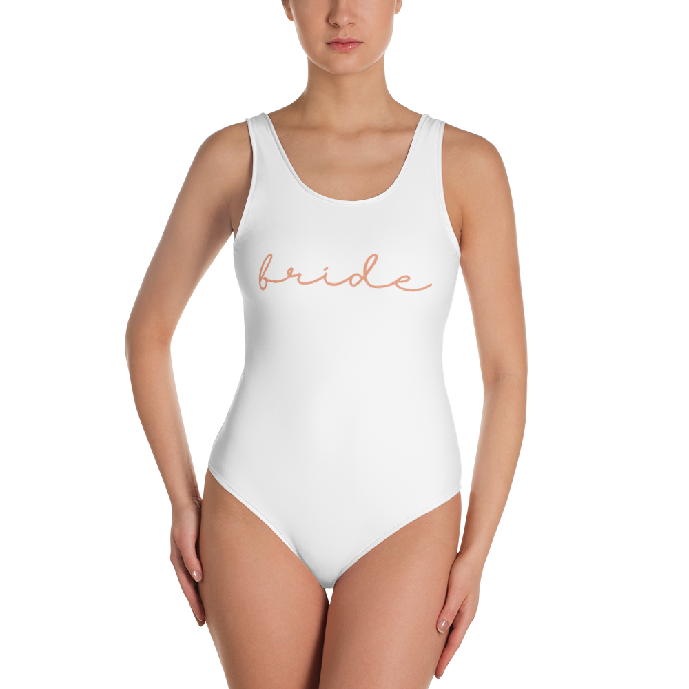 726374fd8b Bride Squad One-Piece Swimsuit | Moncai The Label