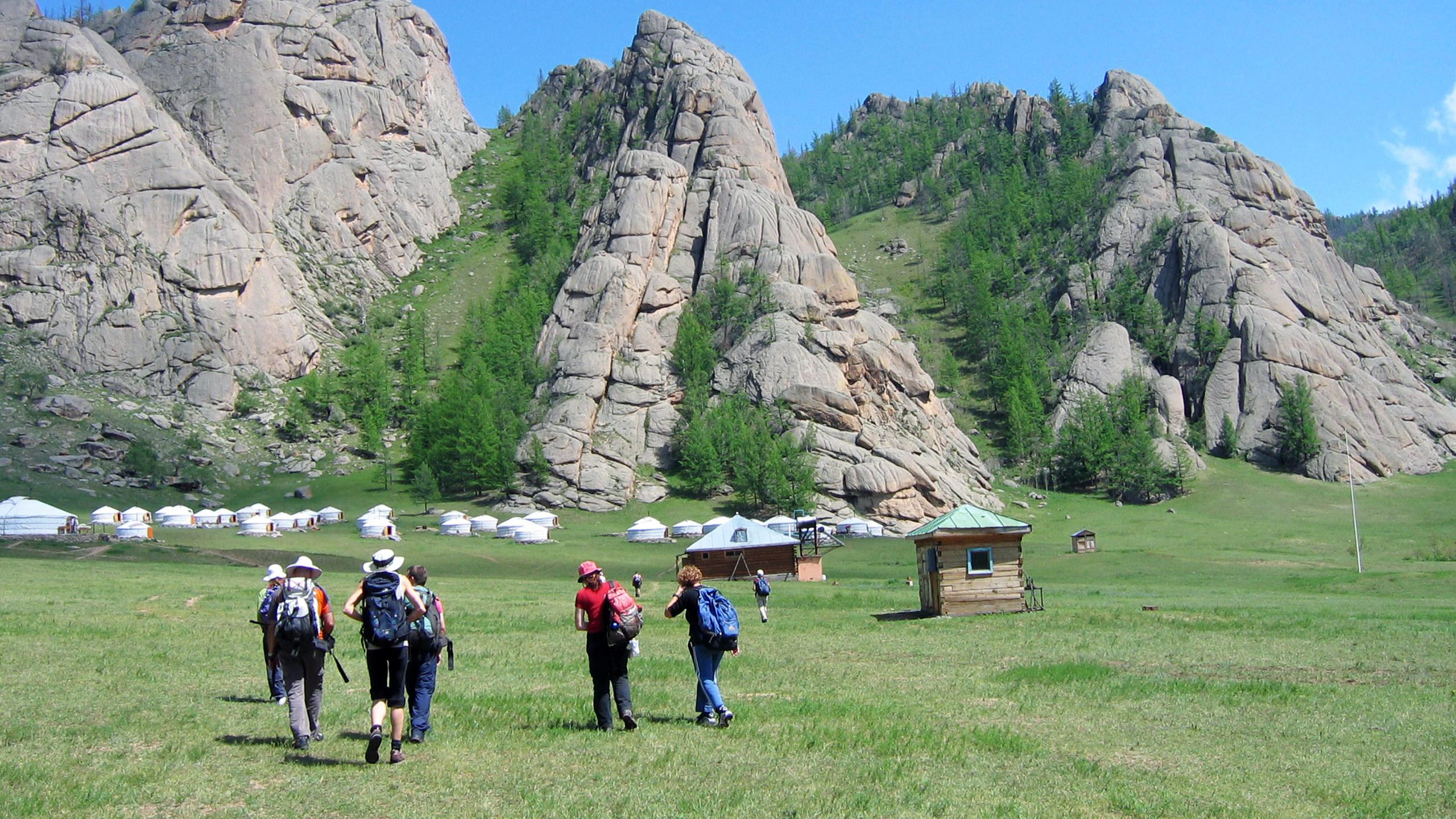 Terelj National Park, Central Mongolia