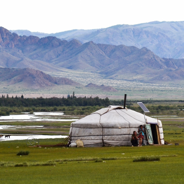 Mongolian Summer Is A Kind Of Paradise For Nomads And Animals